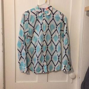 Talbots summer weight blouse.